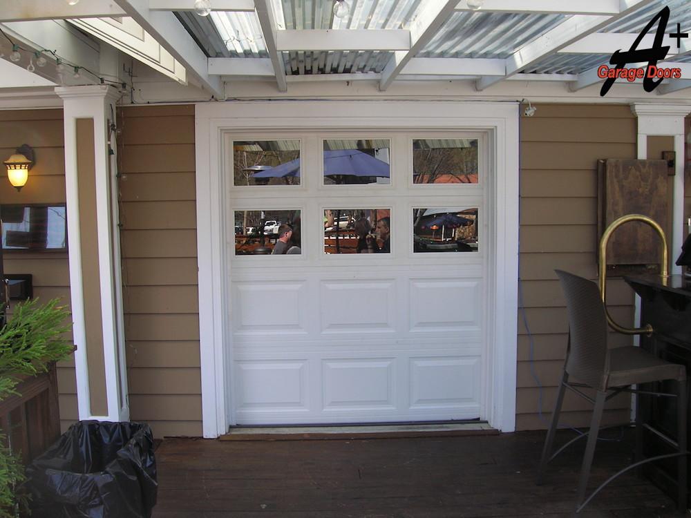 Charlotte nc commercial restaurant garage door for Garage doors charlotte nc