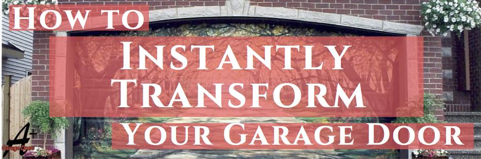 How to Instantly Transform your Garage Door!