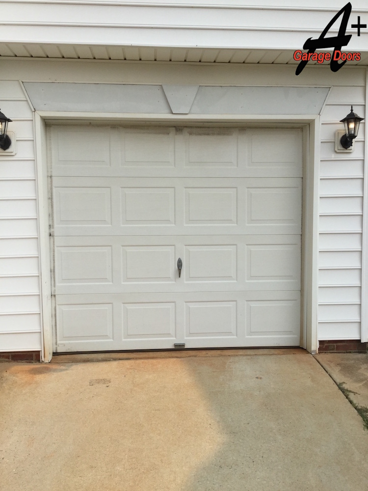 residential garage door installation replacement step by