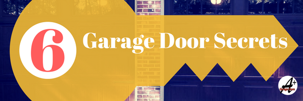 6 TOP Garage Door Secrets