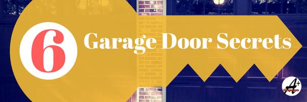 6 TOP Garage Door Secrets