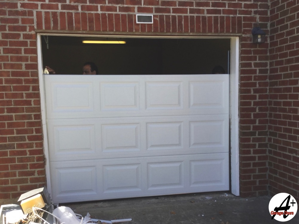 Apartment Complex Residential Garage Door Installation A