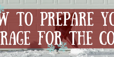 Preparing your Garage for the Winter Cold