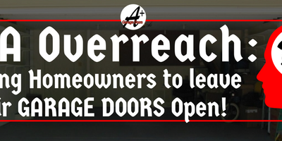 This HOA Forced Their Residents to Leave Their Garage Doors Open – Find Out Why.