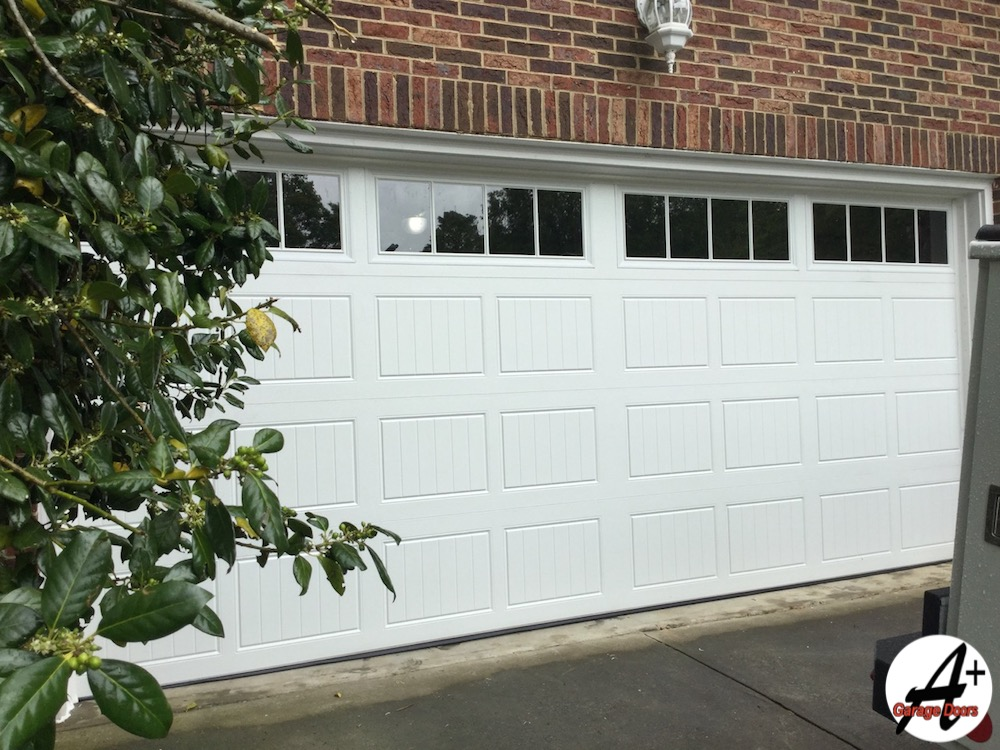 Beautiful Residential Garage Door After