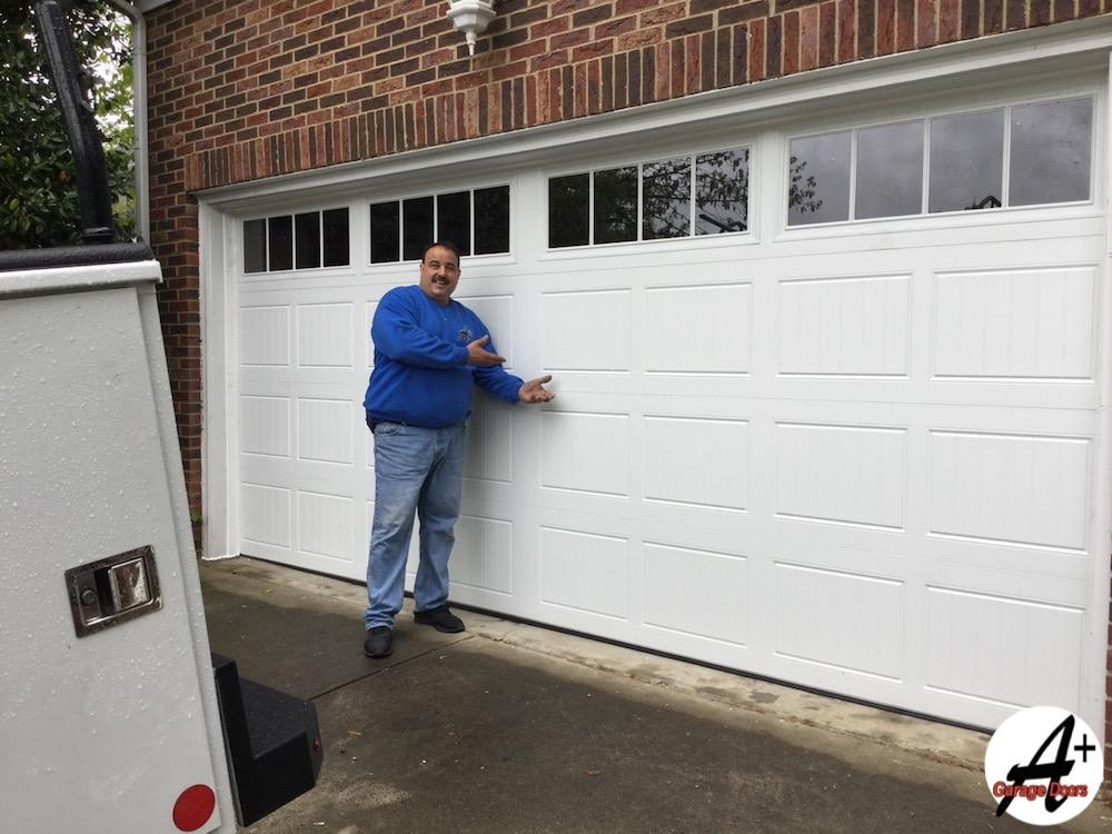 Happy Jimmy Garage Door Demonstration After