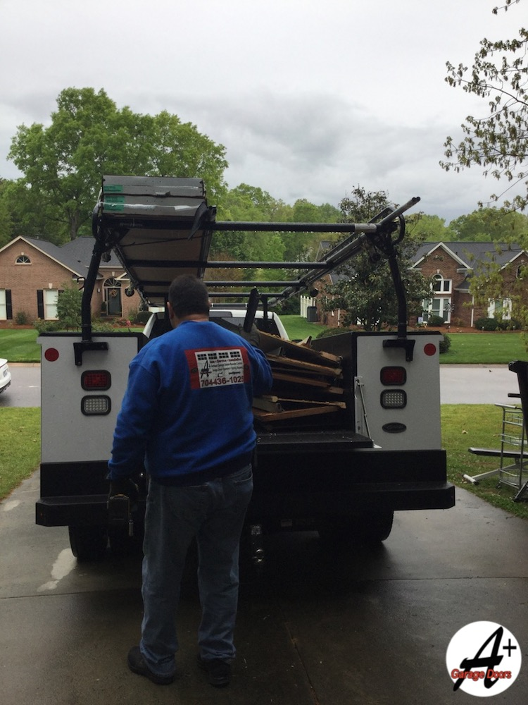 Loading Removing Old Door Free No Charge Residential