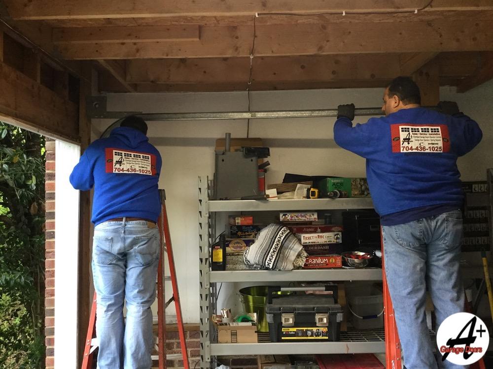 Remove Residential Garage Door Tracks